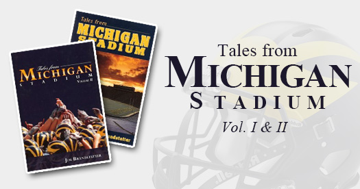 Tales from Michigan Stadium Volume I & II - books